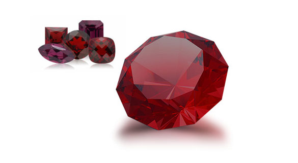 Garnet - the January birthstone