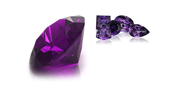 Amethyst - the February birthstone