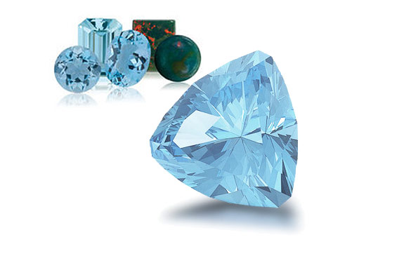 Aquamarine - the March birthstone