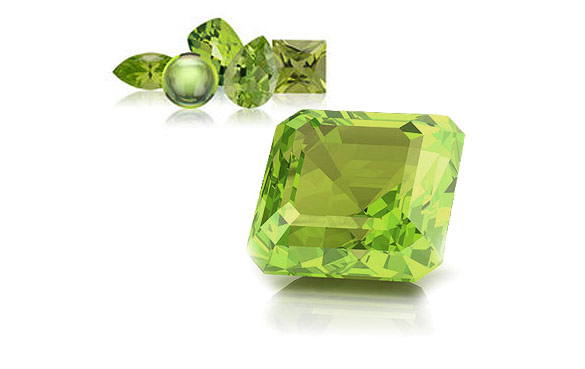 Peridot - the August birthstone
