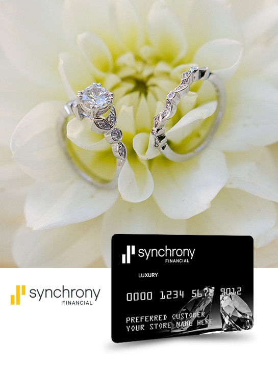 Jewelry Credit Card with Synchrony